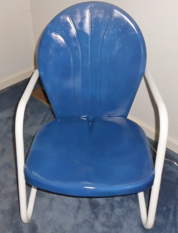 Refurbished Retro Chair Makeover