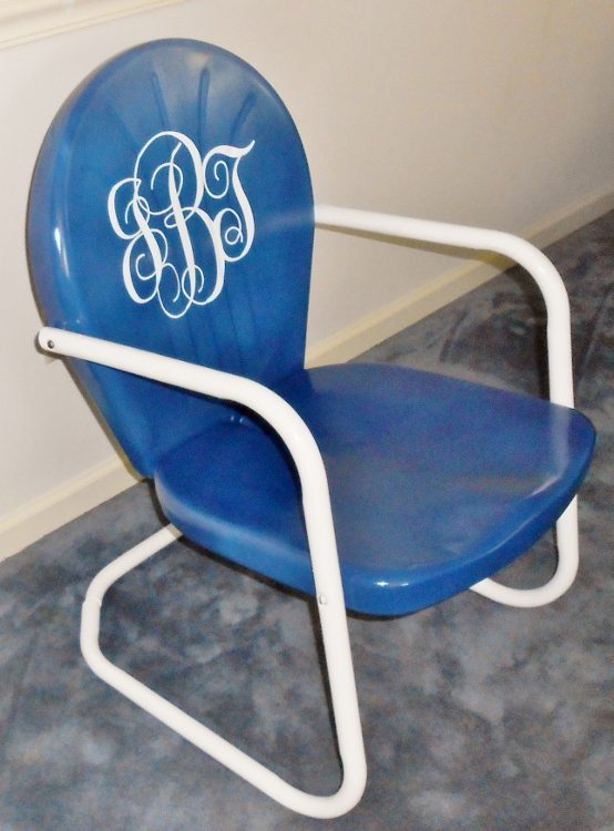 Refurbished Retro Vintage Chair Rescue