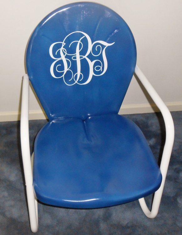 Refurbished Retro Chair