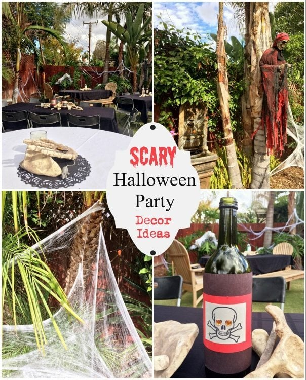 scary halloween party decor ideas - Outdoor Halloween Party