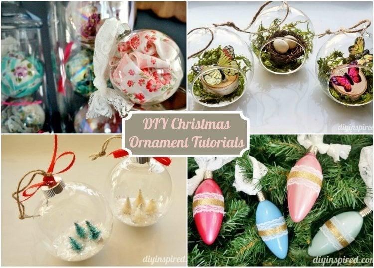 DIY Christmas Ornament Tutorials