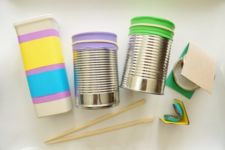 Wonderful Craft Ideas For Kids-musical Instruments Part - 12: DIY Instruments Recycled Craft