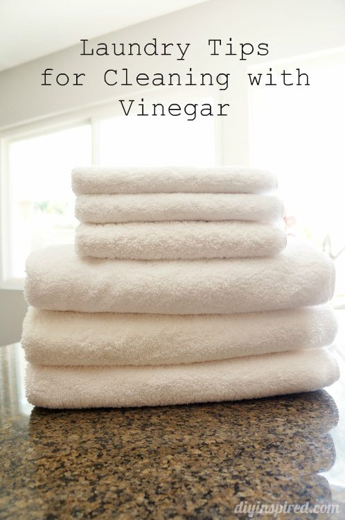 Laundry Tips for Cleaning with Vinegar (7)