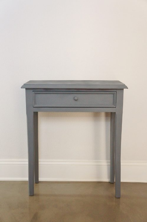 Wooden Side Table Painted