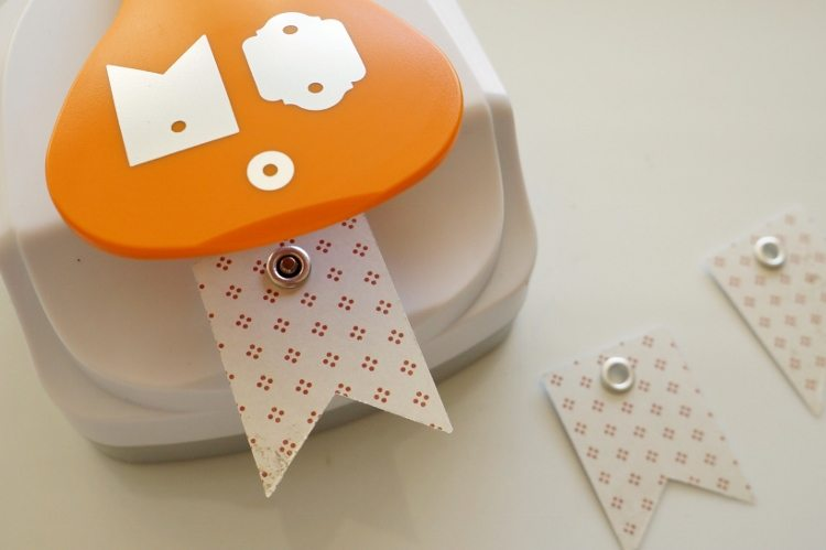 DIY Gift Tags with Eyelet Setter