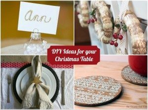 DIY Ideas for your Christmas Table