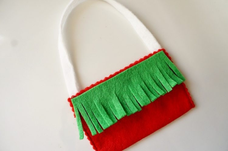 Elf on the Shelf No Sew Messenger Bag Message from Santa