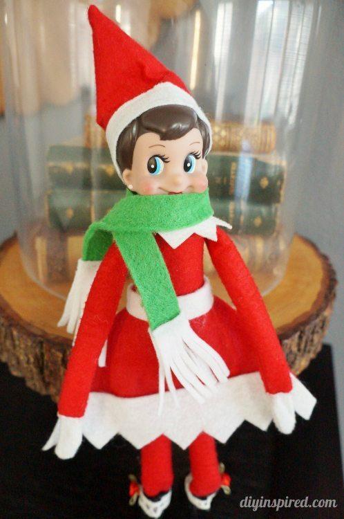 Elf Sized No Sew Scarf Diy Inspired