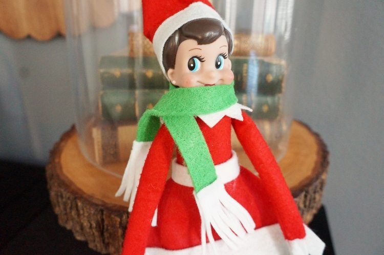 Elf on the Shelf Scarf -Elf Clothes