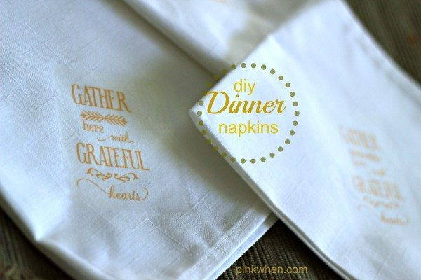 Fall Dinner Linen napkins