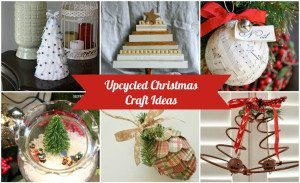 Upcycled Christmas Craft Ideas