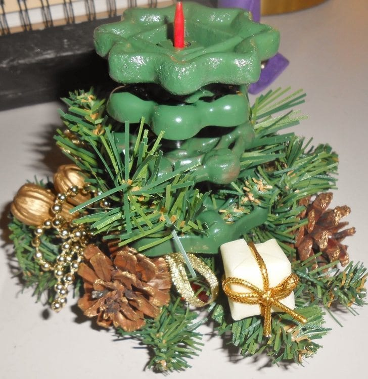 Water Faucet Covers to Christmas Tree (2)