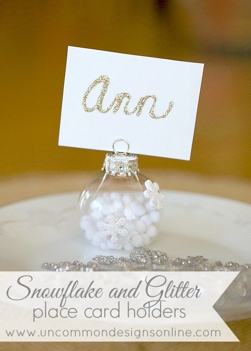snowflake-and-glitter-place-card-holders-