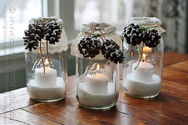 snowy-pinecone-candle-jars-snowy-window