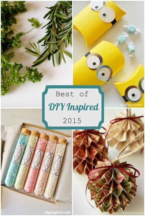 Best of DIY Inspired 2015 dyinspired.com