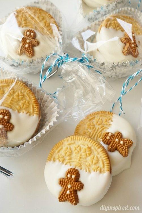 Gingerbread Oreo Cookies (7)