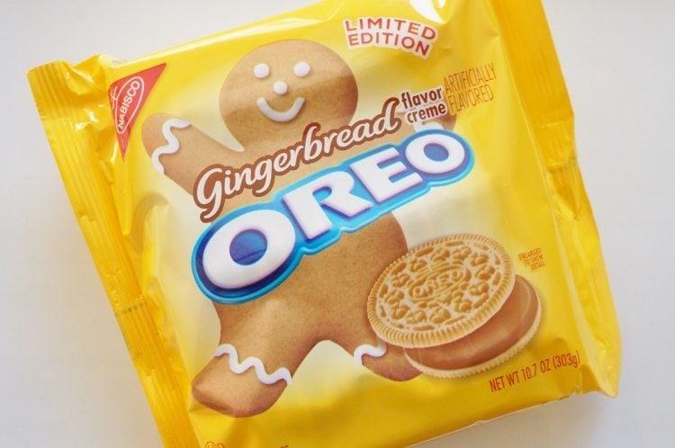 Gingerbread Oreo Cookies