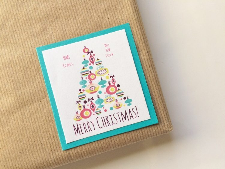 How to Make Your Own Gift Tags