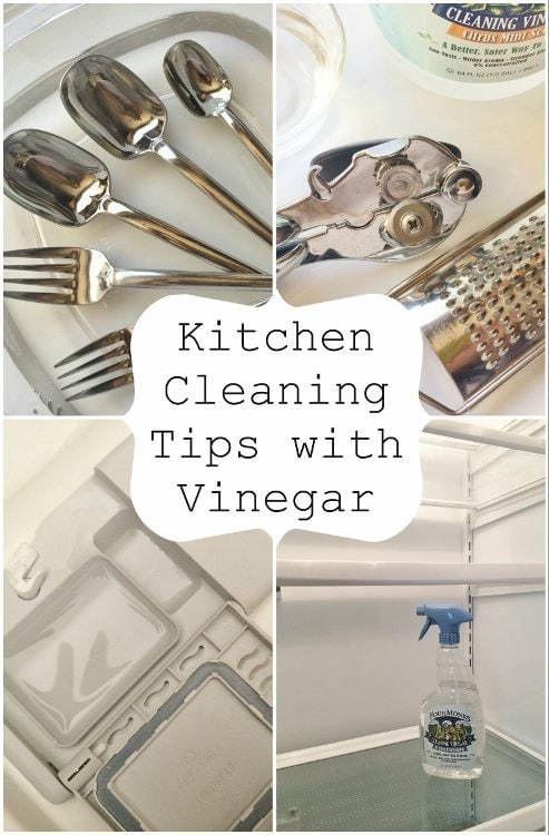 Kitchen Cleaning Tips With Vinegar Diy Inspired