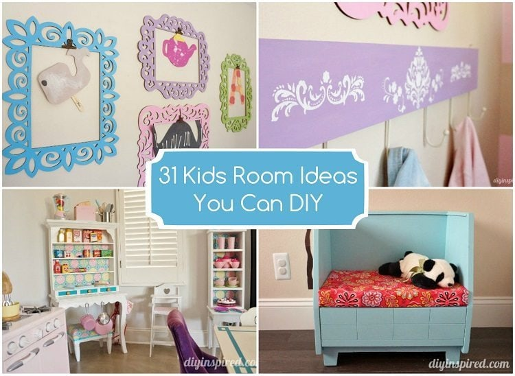 31 Kids Room Ideas You Can DIY - DIY Inspired