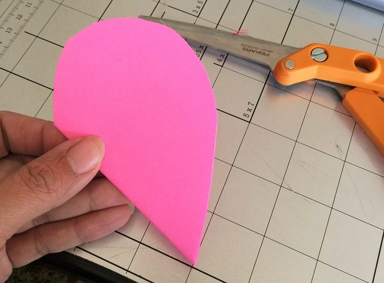 3D Paper Hearts Valentines Day Decor