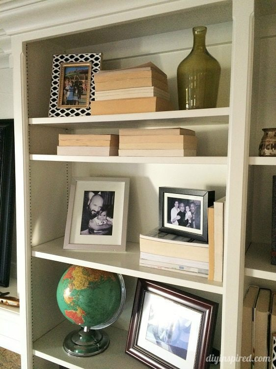decorating ideas bookshelves