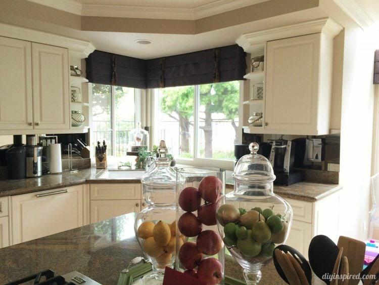 DIY Inspired Kitchen Tour Apothecary Jars