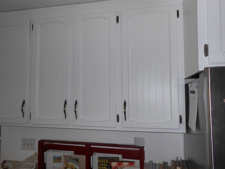 Diy kitchen cabinet makeover diy inspired - Kitchen cabinet diy makeover ...