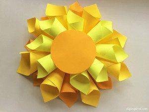 DIY Paper Dahlia Flower