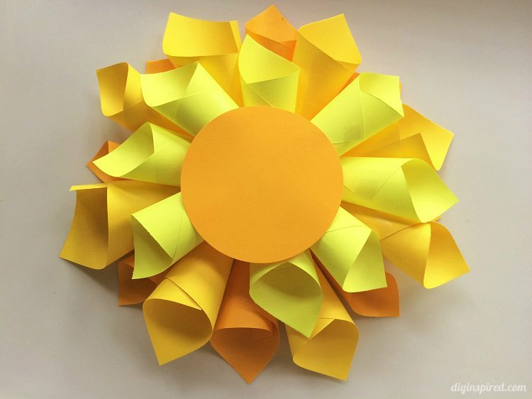 Dahlia Flower Paper Craft