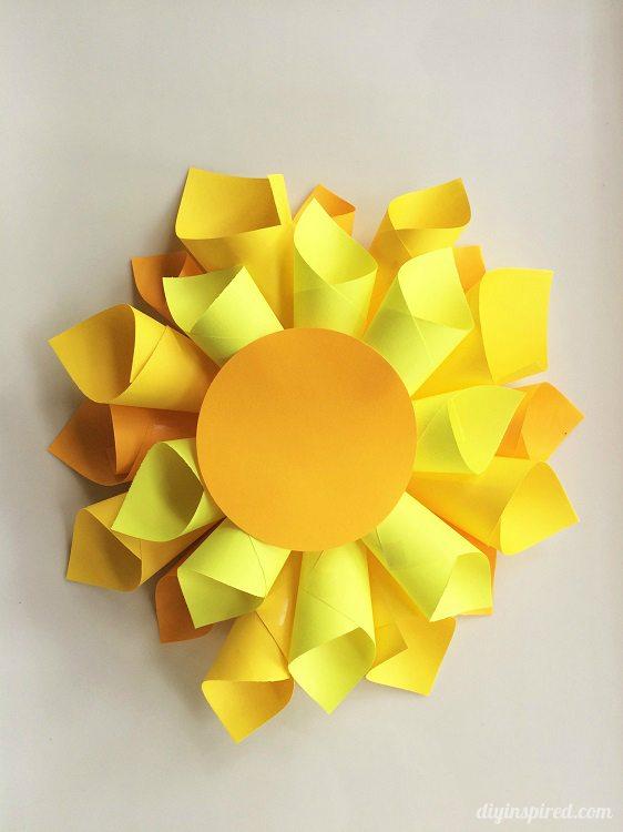 DIY Paper Flower DIY Inspired