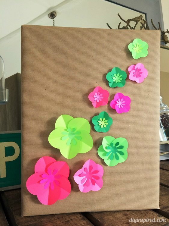 Easy Paper Craft Gift Wrapping