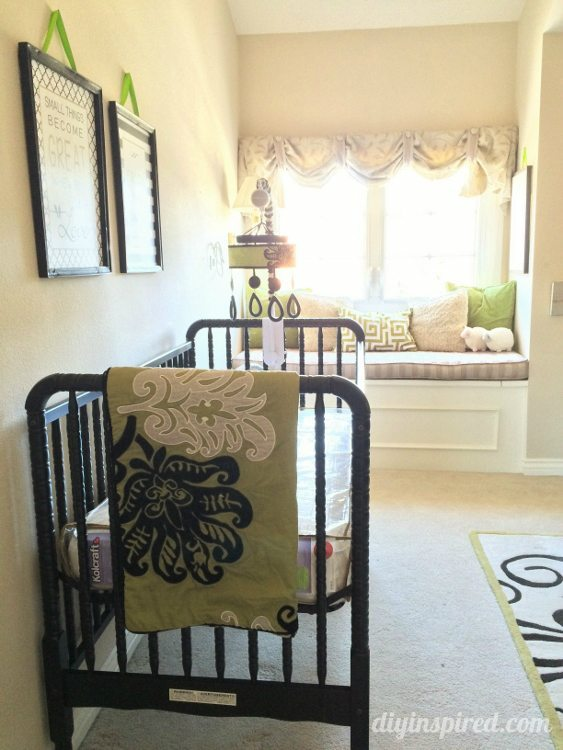 Nursery Tour - Crib