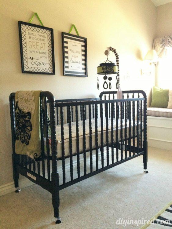 Nursery Tour - DaVinci Jenny Lind Crib