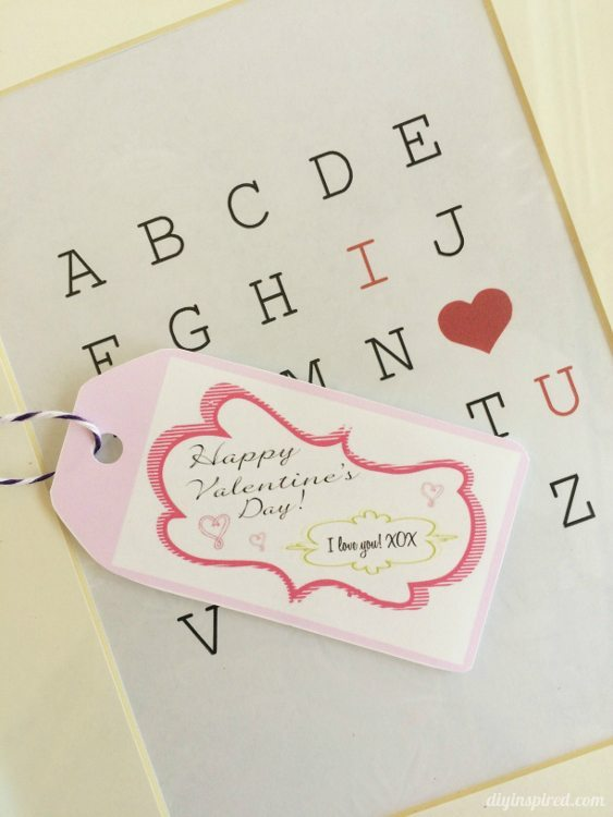 Valentine gift tags diy inspired printable valentine gift tags diy inspired negle Choice Image