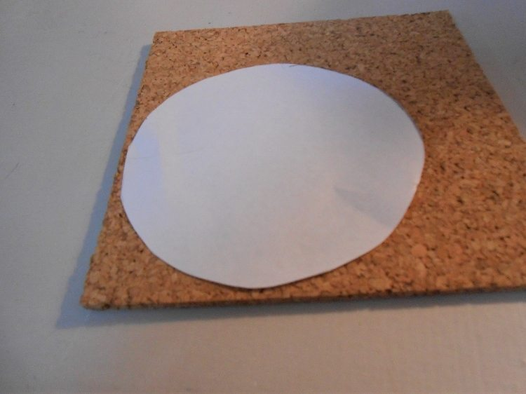 Candle Lids Turned Coasters DIY