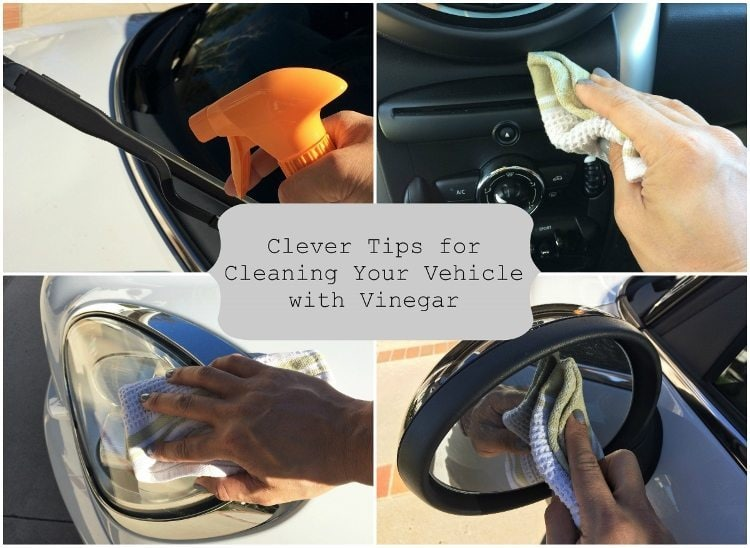 Clever Tips for Cleaning Your Vehicle with Vinegar