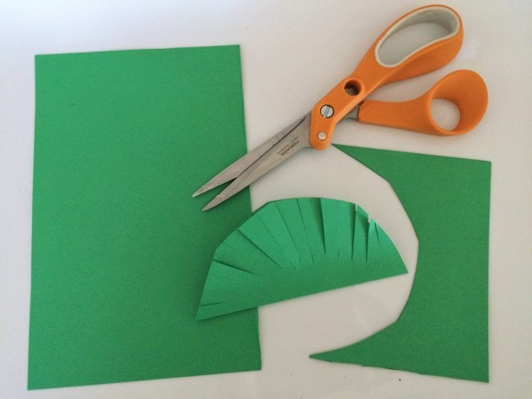 Jungle Party Paper Leaves