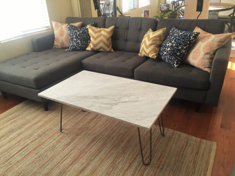 Marble Coffee Table Makeover