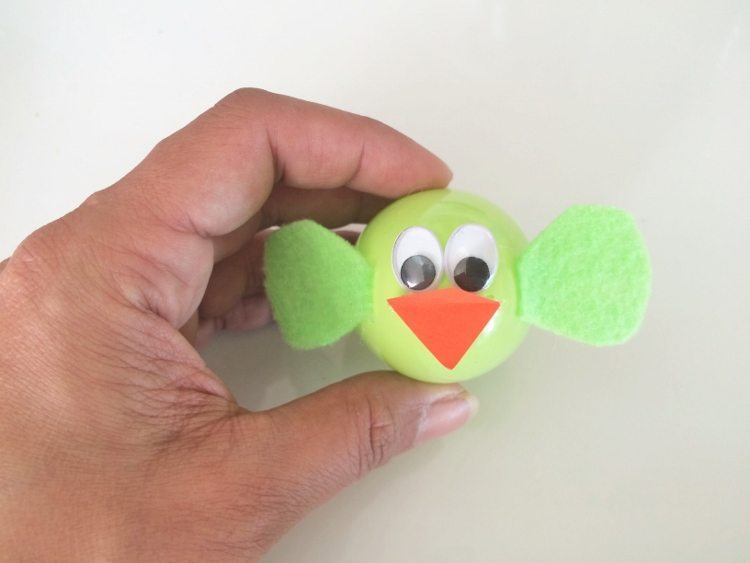 Plastic Easter Egg Craft