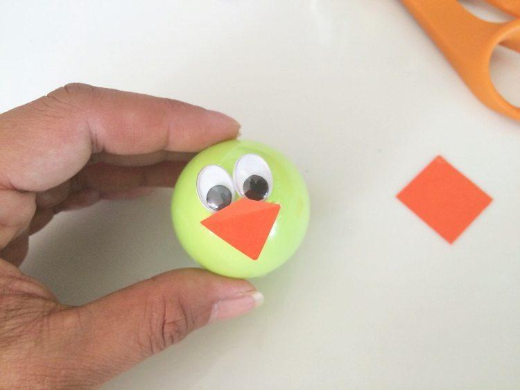 Plastic Easter Egg Kids Activity