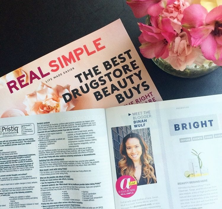 Real Simple Magazine Feature