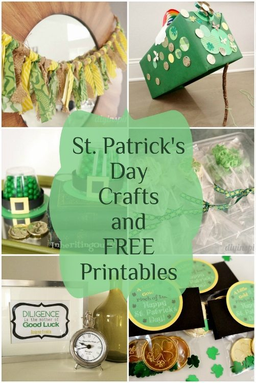 St. Patricks Day Crafts and Printables - DIY Inspired