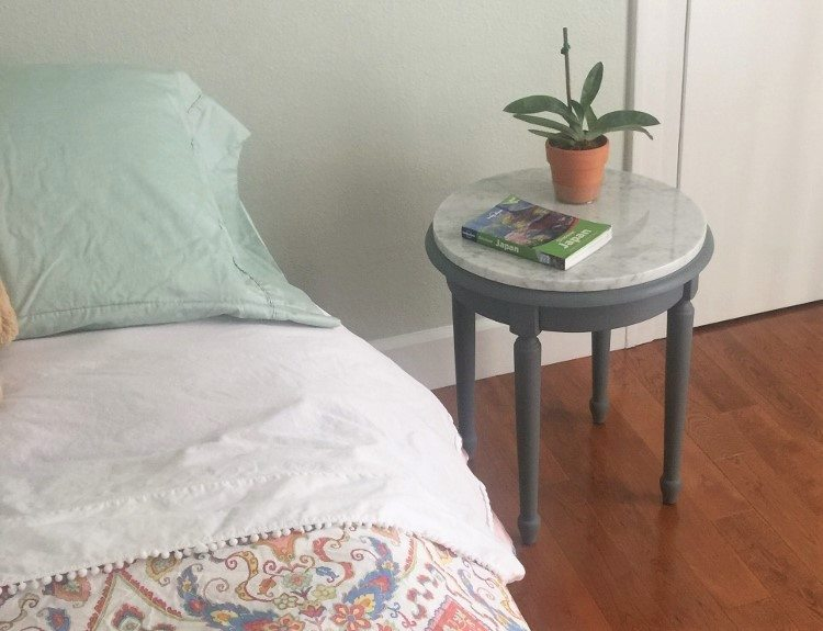 Upcycled Side Table Makeover