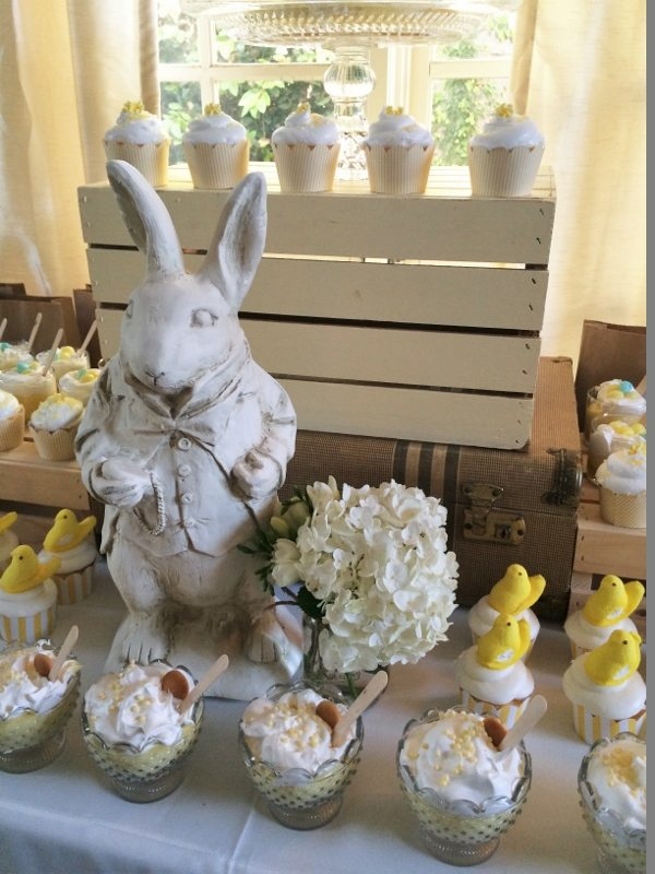 Easter Dessert Table Easter Bunny