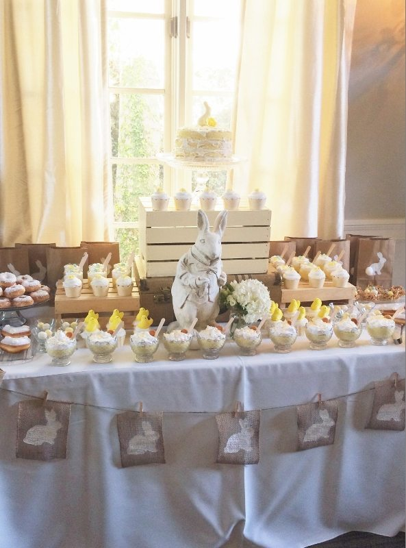 Easter Dessert Table