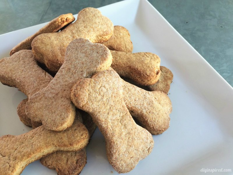 Easy Four Ingredient Dog Treats