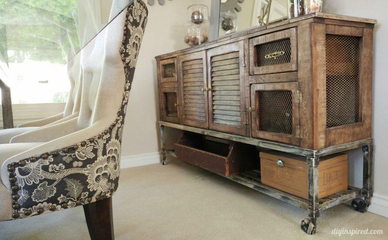 Dining Room Industrial Storage