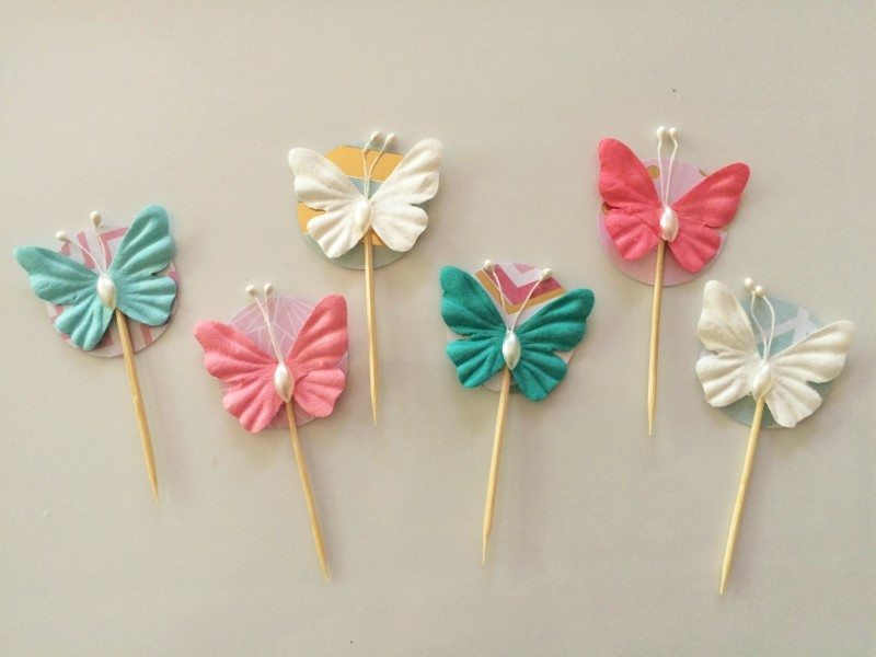 Last Minute Cupcake Toppers