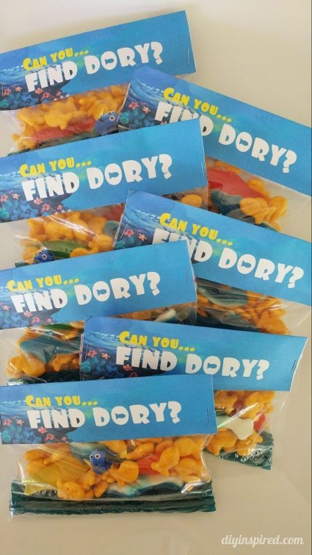 Can You Find Dory Party Favor Printables